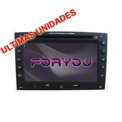 RENAULT MEGANE 2 - 2DIN GPS HD USB SD DVD BLUETOOTH