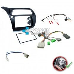 HONDA CIVIC MK8 EUROPEO (2006-2011) - 2DIN KIT RADIO UNIVERSAL