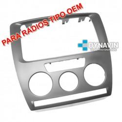 SKODA OCTAVIA II. DE RADIO BOLERO A COLUMBUS - MARCO ADAPTADOR 2DIN PARA RADIOS TIPO OEM