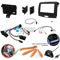 FORD RANGER (+2016) - 2DIN KIT RADIO UNIVERSAL
