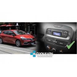 RENAULT CLIO (+2012) - SOPORTE CON MARCO ADAPTADOR 1DIN