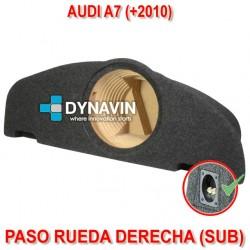 AUDI A7 (+2010) - CAJA ACUSTICA PARA SUBWOOFER ESPECÍFICA PARA HUECO EN EL MALETERO