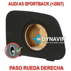 AUDI A5 SPORTBACK (+2007) - CAJA ACUSTICA PARA SUBWOOFER ESPECÍFICA PARA HUECO EN EL MALETERO