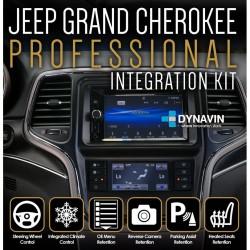 JEEP GRAND CHEROKEE (+2014) - 2DIN KIT RADIO UNIVERSAL