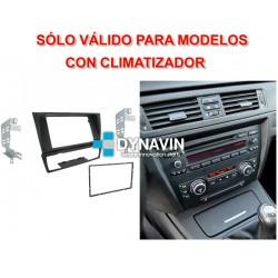 BMW SERIE 3 E90, E91, E92 y E93 - SOPORTE 2DIN CON MARCO ADAPTADOR