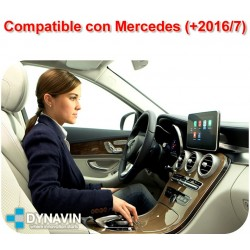 APPLE CAR PLAY PARA MERCEDES BENZ PANTALLA ORIGINAL NTG5, NTG5.1