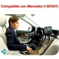 APPLE CAR PLAY PARA MERCEDES BENZ PANTALLA ORIGINAL NTG5, NTG5.1