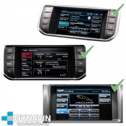 LAND ROVER, JAGUAR GPS TOUCH 3ª GENERACION - INTERFACE CAMARA TRASERA + VIDEO MOVIMIENTO