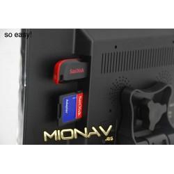 """MONITOR 7"""": AV IN + CAM IN. CON ALTAVOCES"""