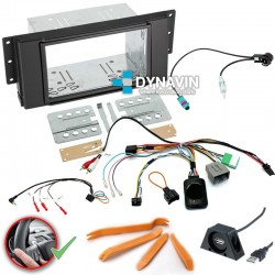 LAND ROVER FREELANDER 2 TD4 (2006-2014) - 2DIN KIT RADIO UNIVERSAL