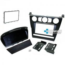 BMW SERIE 5 E60 PRE-LCI (2003-2007) - SOPORTE 2DIN CON MARCO ADAPTADOR