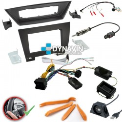 BMW X1 E84 (2009-2015) - 2DIN KIT RADIO UNIVERSAL