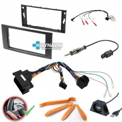 FORD RECTANGULAR - 2DIN KIT RADIO UNIVERSAL