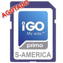 IGO PRIMO 3D SUR AMERICA - MAPAS CON LICENCIA ORIGINAL