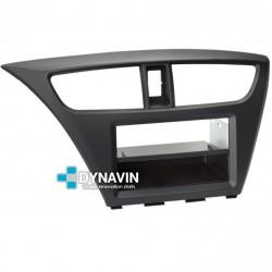 HONDA CIVIC MK9 EURO (+2011) - SOPORTE CON MARCO ADAPTADOR 1 Y 2 DIN