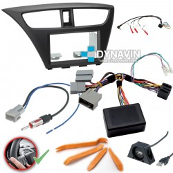 HONDA CIVIC MK9 EUROPEO (+2011) - 2DIN KIT RADIO UNIVERSAL
