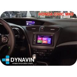 HONDA CIVIC MK9 EUROPEO (+2011) - 2DIN KIT RADIO UNIVERSAL