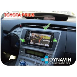 TOYOTA MULTISERIES - PERFILES ADAPTADORES OEM A 2DIN UNIVERSAL