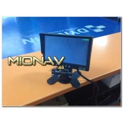 """MONITOR 7"""": 4 x AV IN (1 CAM IN). QUAD"""