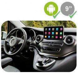 MERCEDES CLASE V W447 - ANDROID 9""