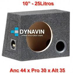 """CON BASS REFLEX: 10"""", 25Li. Anc 44 x Pro 30 x Alt 35"""