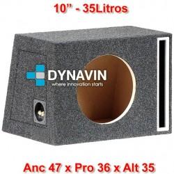 """CON PASO DE BANDA: 10"""", 35Li. Anc 47 x Pro 36 x Alt 35"""