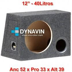 """CON BASS REFLEX: 12"""", 40Li. Anc 52 x Pro 33 x Alt 39"""