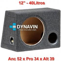 """CON BASS REFLEX: 12"""", 40Li. Anc 52 x Pro 34 x Alt 39"""