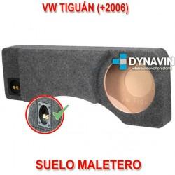 VW TIGUÁN (+2006) - CAJA ACUSTICA PARA SUBWOOFER ESPECÍFICA PARA HUECO EN EL MALETERO