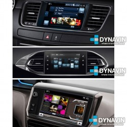 PEUGEOT SMEG TOUCH SCREEN SYSTEM, CITROEN eMyWay COLOUR DISPLAY - INTERFACE MULTIMEDIA DYNALINK