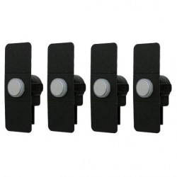 1ª GENERACION - SET 4 CAPSULAS SENSOR DE PARKING TIPO ORIGINAL