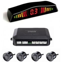 SENSORES DE PARKING - KIT DE 4 CAPSULAS CON DISPLAY LED