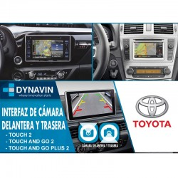 TOYOTA TOUCH 2, TOUCH AND GO 2, PLUS 2, ENTUNE AUDIO (+2010) - INTERFACE, CONECTOR PARA CAMARA TRASERA + DELANTERA