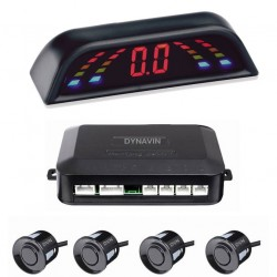 SENSORES DE APARCAMIENTO - KIT DE 4 CAPSULAS CON DISPLAY LED