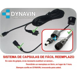 SENSORES DE PARKING - KIT DE 4 CAPSULAS CON BUZZER