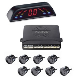 SENSORES DE PARKING - KIT DE 8 CAPSULAS CON DISPLAY LED
