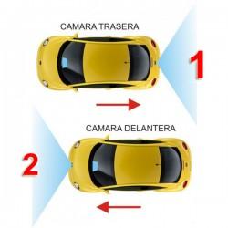 UNIVERSAL - 2 CÁMARAS INTERFACE CONTROL CAMARA TRASERA + DELANTERA
