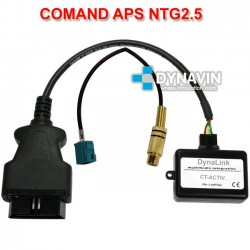 MERCEDES COMAND APS NTG2.5 - INTERFACE PARA CAMARA TRASERA