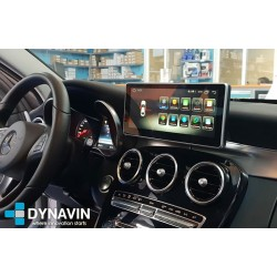 MERCEDES CLASE C W205, CLASE V W447 - ANDROID 10,25""