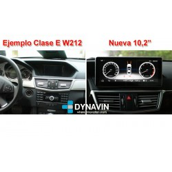 MERCEDES GLK X204 (2007-2015) - ANDROID 10,25""