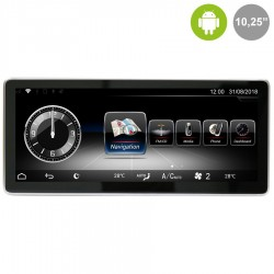 """MERCEDES CLASE A/B/CLA/GLA NTG 5.0/5.1 (+2015) - ANDROID 10,25"""""""