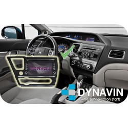 HONDA CIVIC (MK9 USA) - 2DIN GPS HD USB SD DVD BLUETOOTH