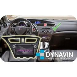 HONDA CIVIC MK9 EU (+2011) - 2DIN GPS HD USB SD DVD BLUETOOTH