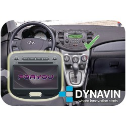 HYUNDAI I10 (2007-2012) - 2DIN GPS HD USB SD DVD BLUETOOTH