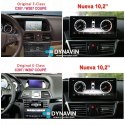 MERCEDES CLASE E COUPE W207 (2009-2015) - ANDROID 10,25""