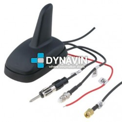 ANTENA RADIO AM, FM, GPS, GSM - TIPO TIBURON 06