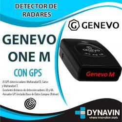GENEVO ONE M DETECTOR DE RADARES PORTATIL