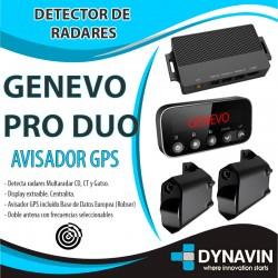Genevo PRO DUO Detector Radares