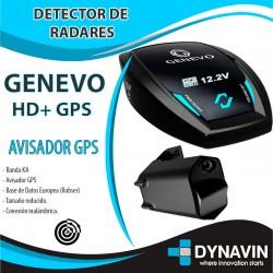 GENEVO HD+ GPS DETECTOR DE RADARES CON INSTALACIÓN*