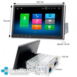 "PANTALLA FLOTANTE 10,2"" UNIVERSAL - ANDROID. FULL TOUCH - ANDROID"